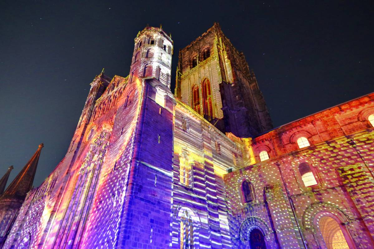 Durham Lumiere picture gallery: Stones will light up Durham Cathedral for Lumiere 2019