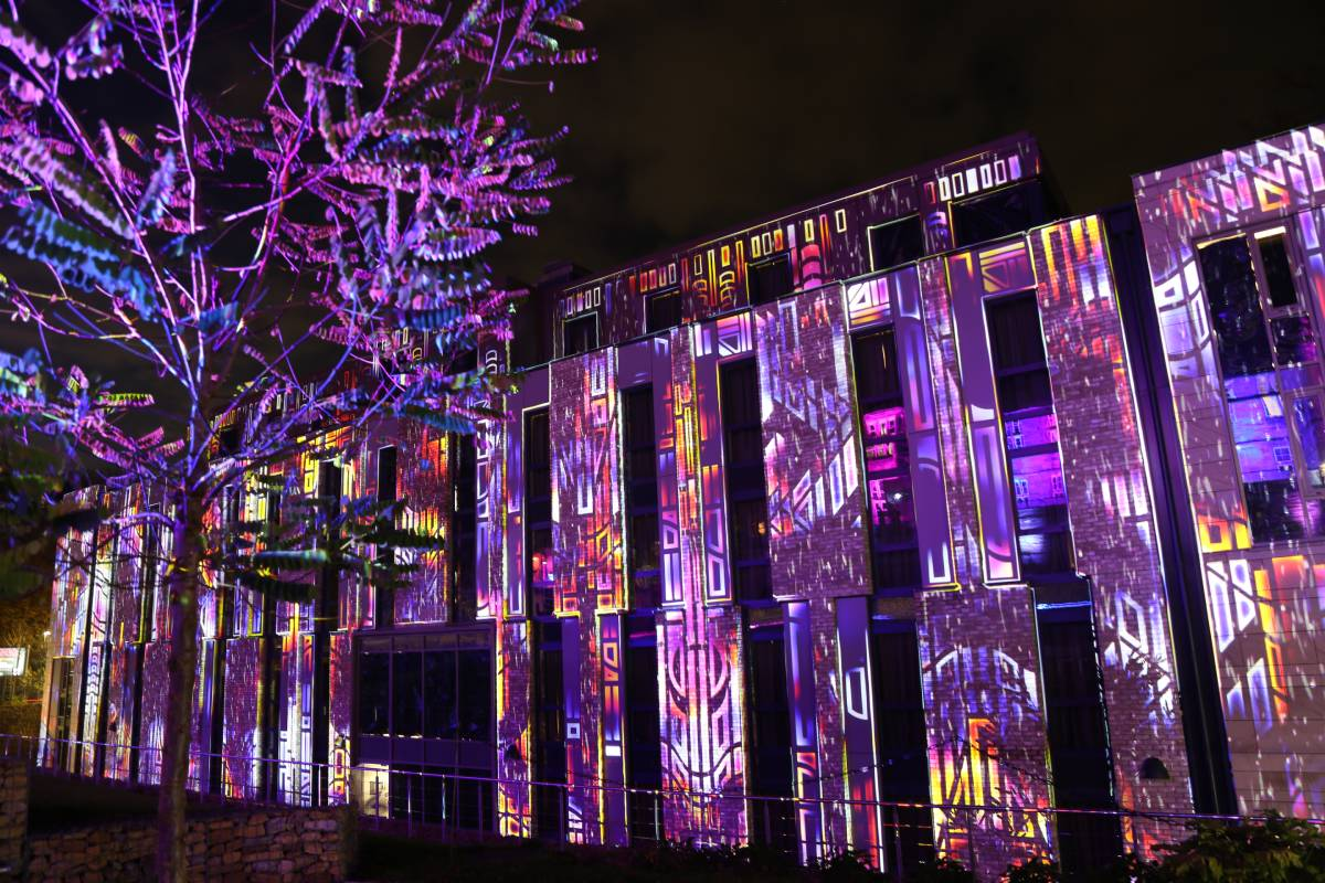 Durham Lumiere highlights: Keys of Light was an interactive light show with the added bonus of excellent music