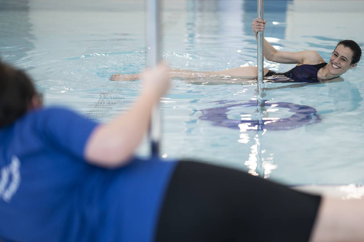 These unusual aqua fitness classes in Durham give you your first session free
