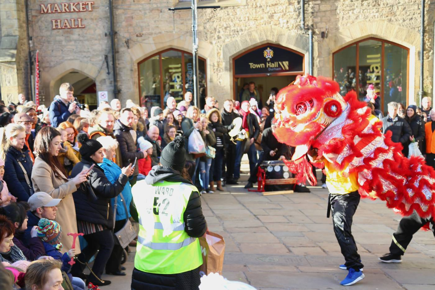What time is the Durham lion dance for Chinese New Year 2020?