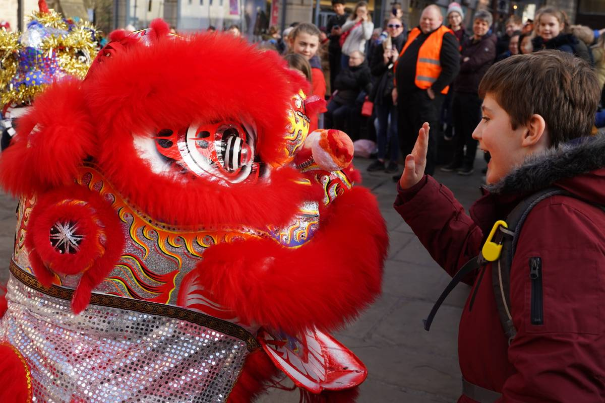 Nine pictures from Durham's Chinese New Year Lion Dance