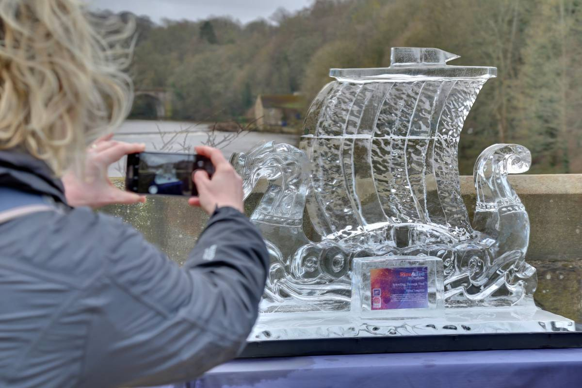 See all 11 sculptures in our Durham Fire and Ice 2020 pictures