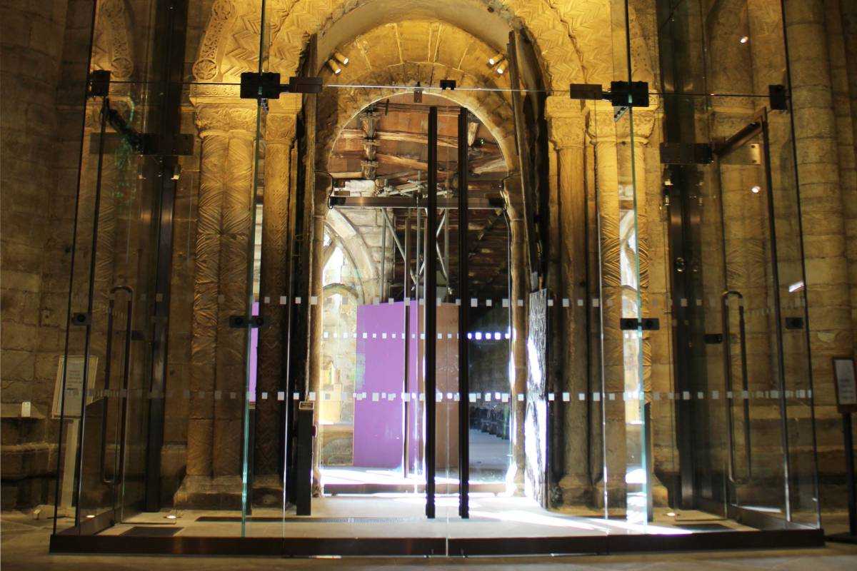 First look at Durham Cathedral's new glass entrance