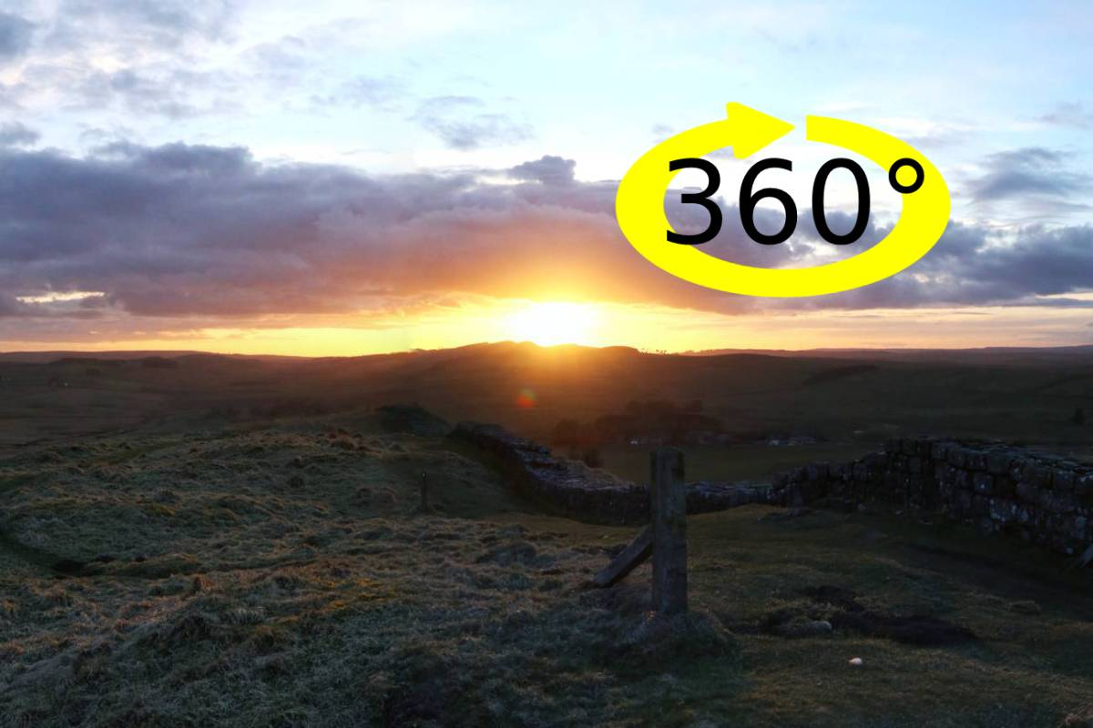 Coronavirus lockdown virtual visits: Hadrian's Wall 360