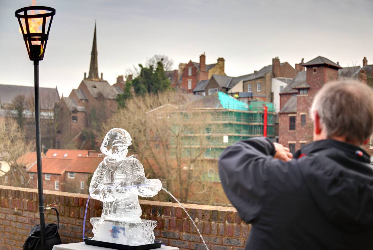 Durham Fire and Ice amazing facts - including how the sculptures stay looking fresh