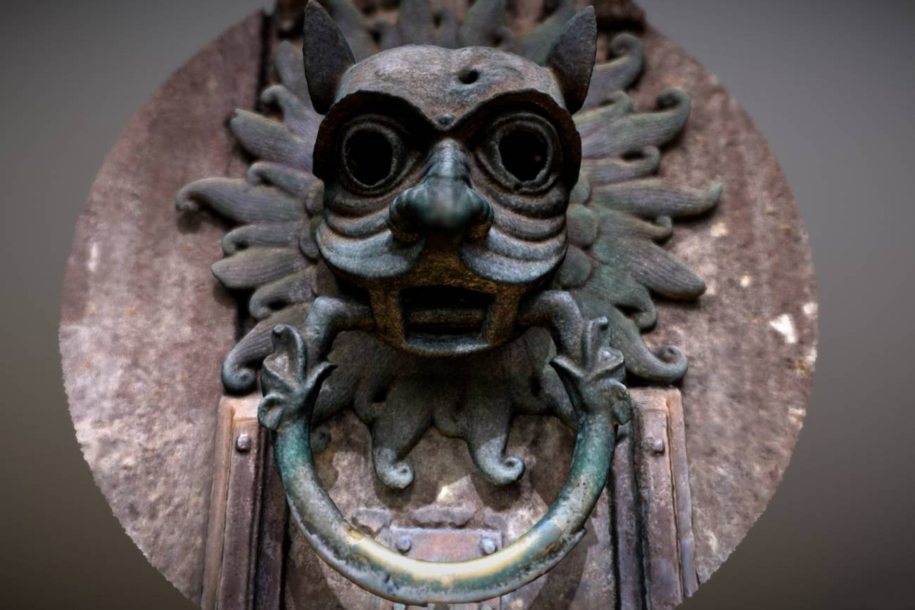 Durham Cathedral 3D sanctuary knocker brings Durham's icon into the digital age