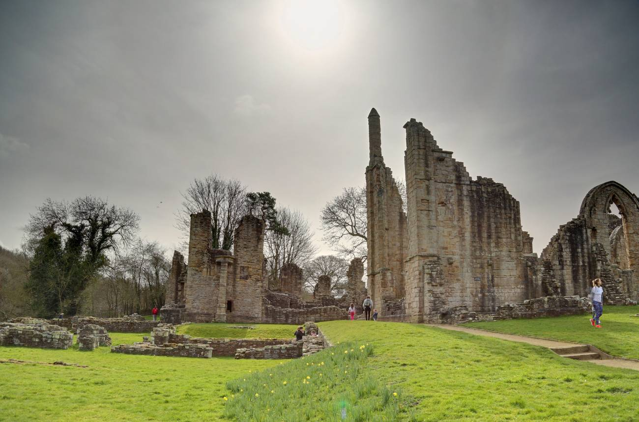 Watch as ancient song comes to life after 900 years at Finchale Abbey