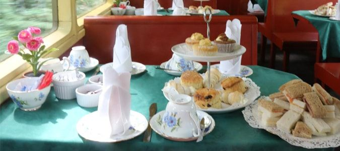 Tanfield Railway afternoon tea prices, times and booking