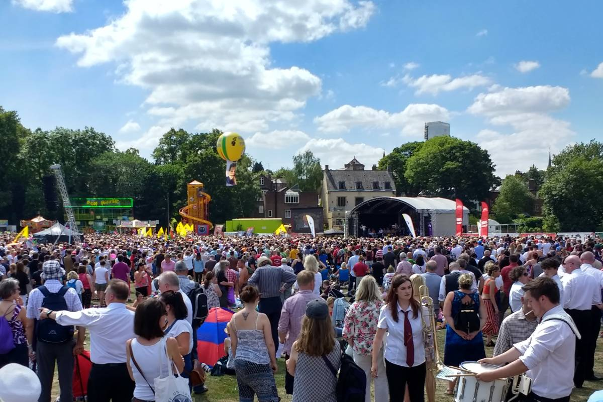 Durham Miners Gala park and ride information for the 2019 event