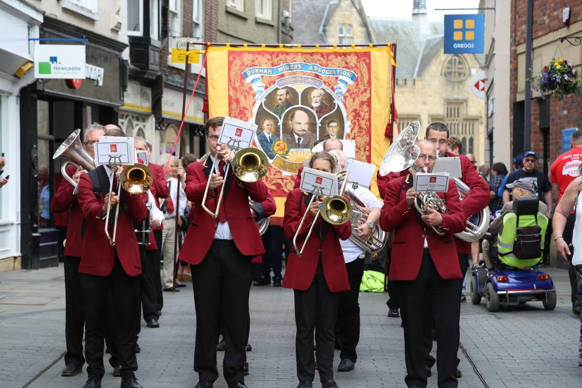 """It's about who you are"" - Durham celebrates 135th year of the Miners Gala"