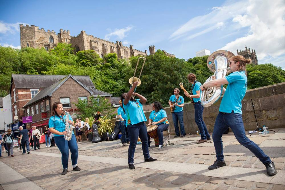 Streets of Brass road closures in place for Durham Brass Festival this weekend
