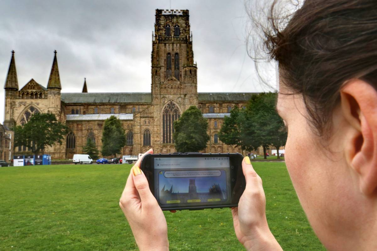 New Durham walking tour app turns city's heritage into a family adventure