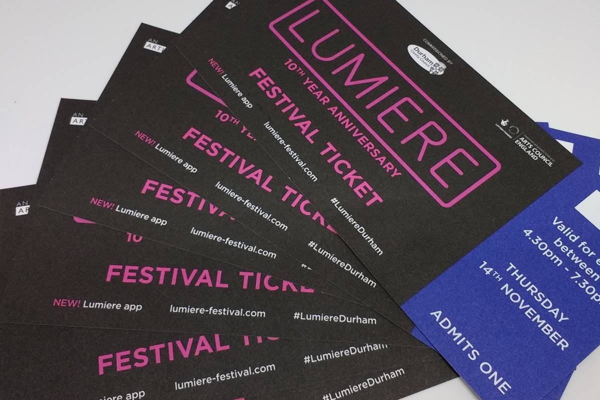 Want a ticket for Durham Lumiere 2019? There's one place they're still available