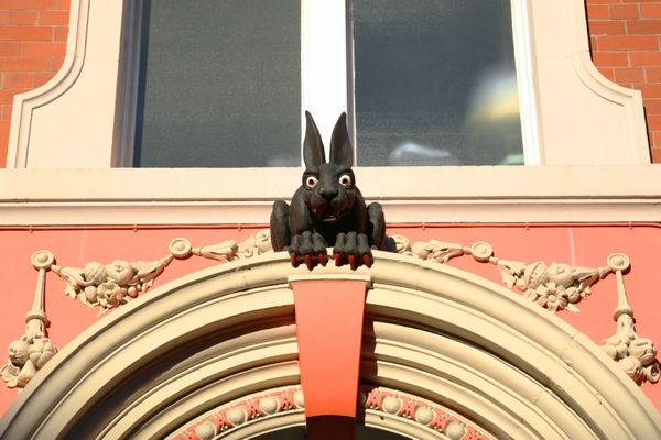 The Newcastle vampire wererabbit is watching you…