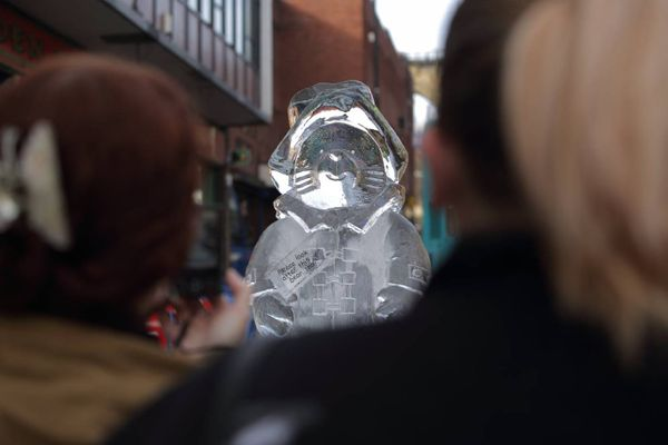 And the Durham Fire and Ice local hero sculpture for 2019 is...