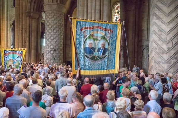 Durham Miners Gala banners to include three new designs for 2019