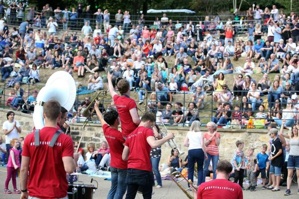 Durham Brass Festival free events 2019 including concerts and street gigs