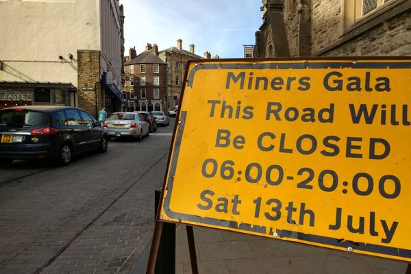 Durham Miners Gala 2019 bus timetables and temporary bus stop locations announced