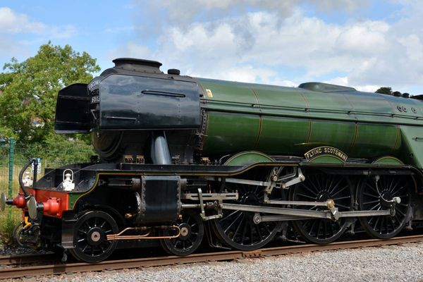 Flying Scotsman comes to Durham's Locomotion Museum Shildon and tickets are on sale
