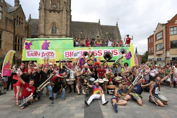 Streets of Brass locations and times released for Durham Brass Festival 2019