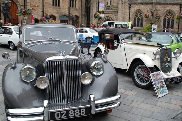 Durham classic car show heads to city centre on Bank Holiday Monday