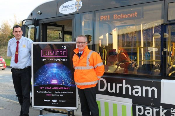 Durham Lumiere 2019 parking, buses, and the best ways to get there